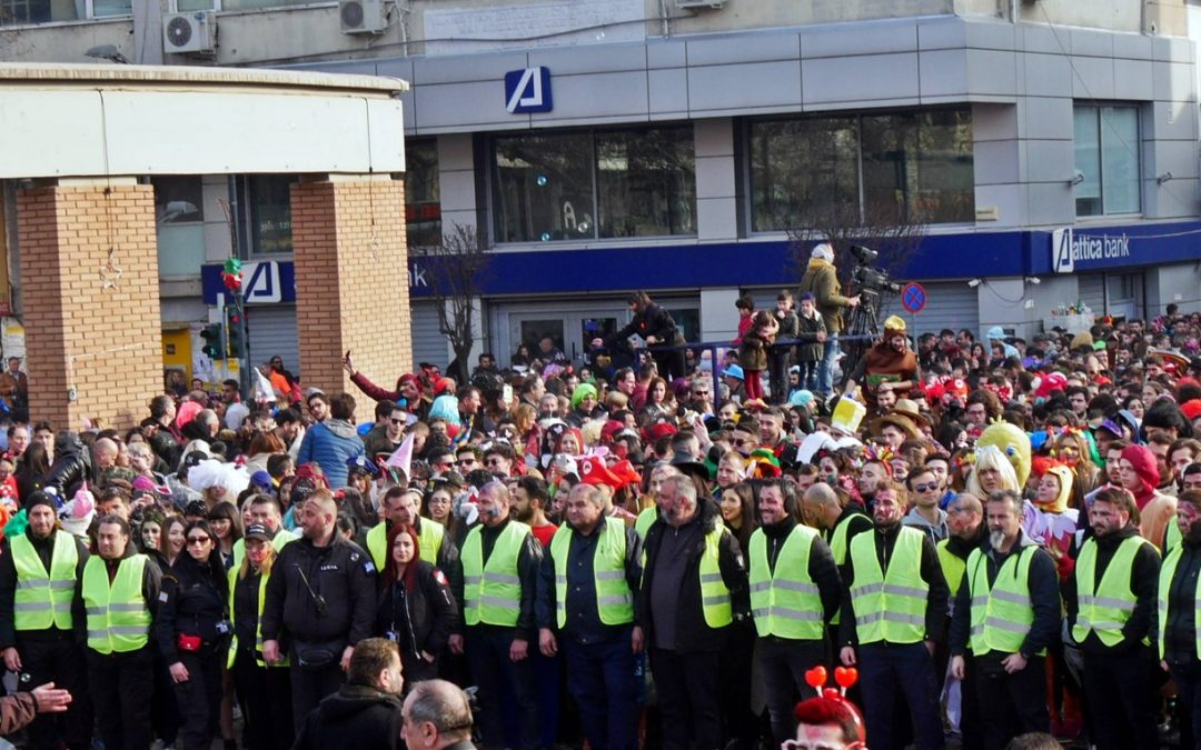 H ConceptsSecurity διεκπεραίωσε με επιτυχία την ασφάλεια της παρέλασης των Θρακικών Λαογραφικών εορτών της Ξάνθης 2018